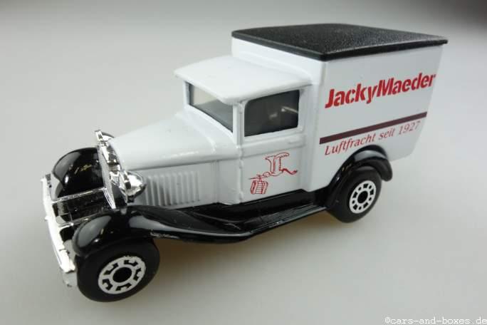 "Ford Model 'A' Van ""Jacky Maeder"" (38-E/76-C) - 69953"