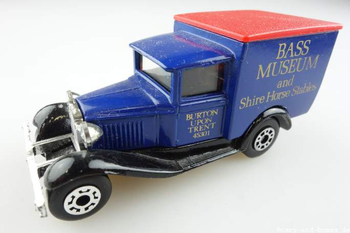 "Ford Model 'A' Van ""BASS Museum"" (38-E/76-C) - 69960"