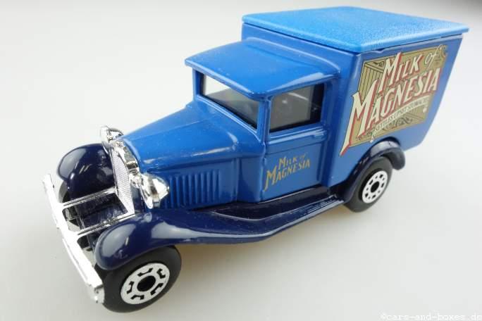 """Ford Model 'A' Van """"Milk of Magnesia"""" (38-E/76-C) - 69967"""
