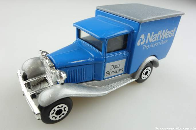 "Ford Model 'A' Van ""National West Action Bank"" (38-E/76-C) - 69968"