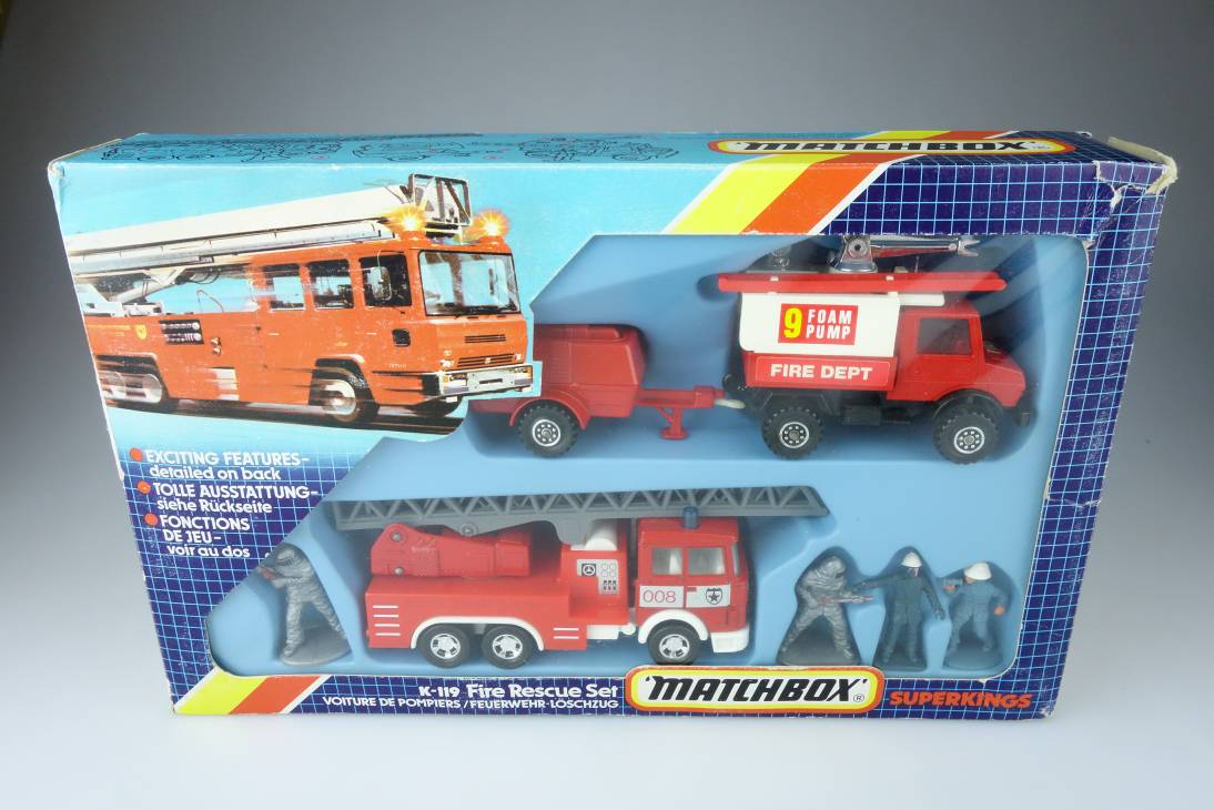 K-119 Fire Rescue Set - 72100