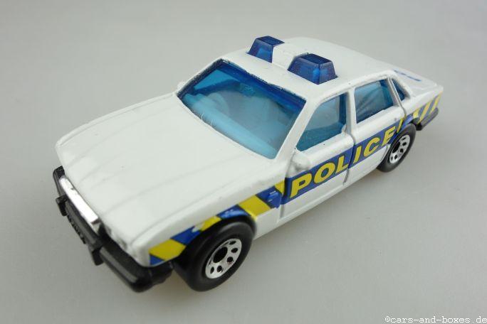 Jaguar XJ6 Police Car with Roof Light (01-F) - 95103