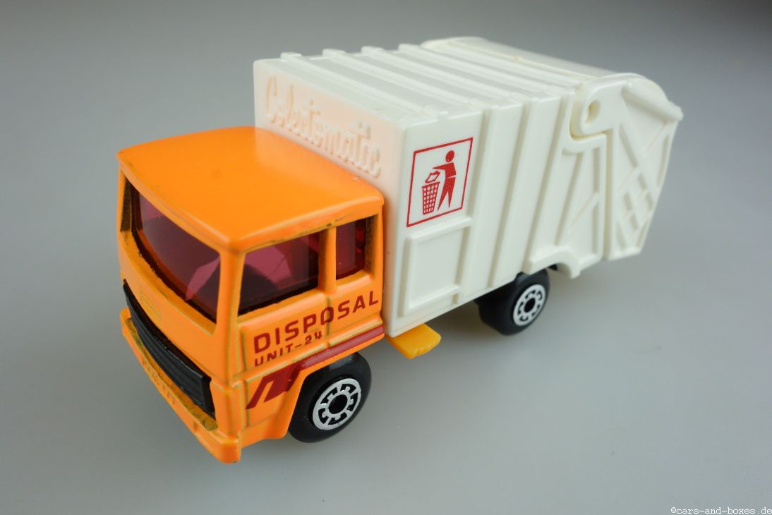 Refuse Truck orange (36-D) - 95187
