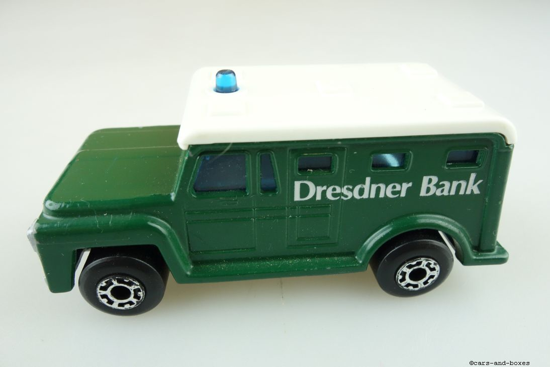 Armored Security Truck Dresdner Bank (69-C) - 95532
