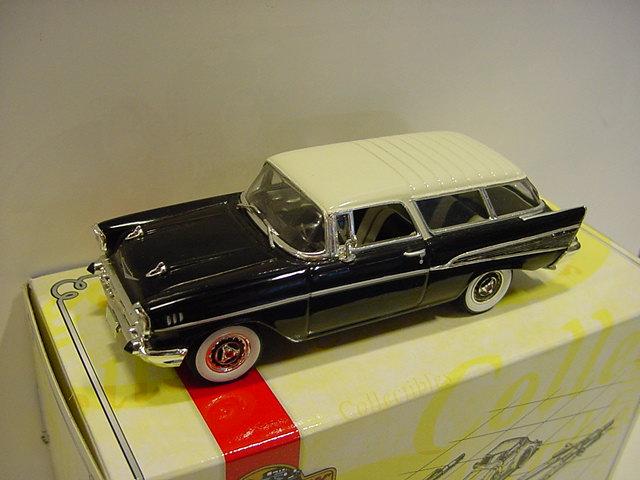 VCV01/SA 1957 Chevrolet Nomad schwarz - 49107