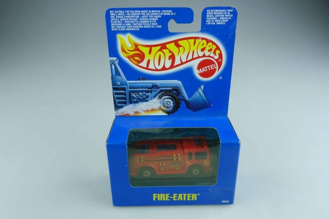 9640 American la France Fire Eater Hot Wheels 1/100 mit.Box 506135
