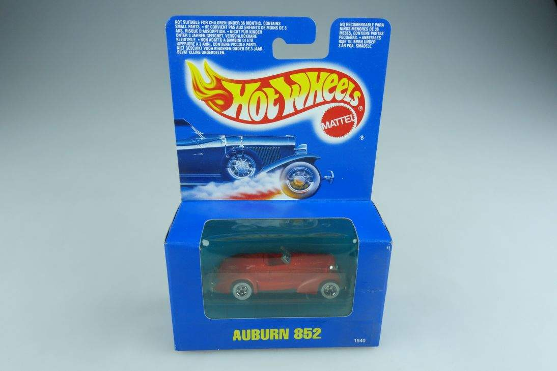 1540 Auburn Speedster Roadster Convertible 1935 Hot Wheels 1/64 mit.Box 506139