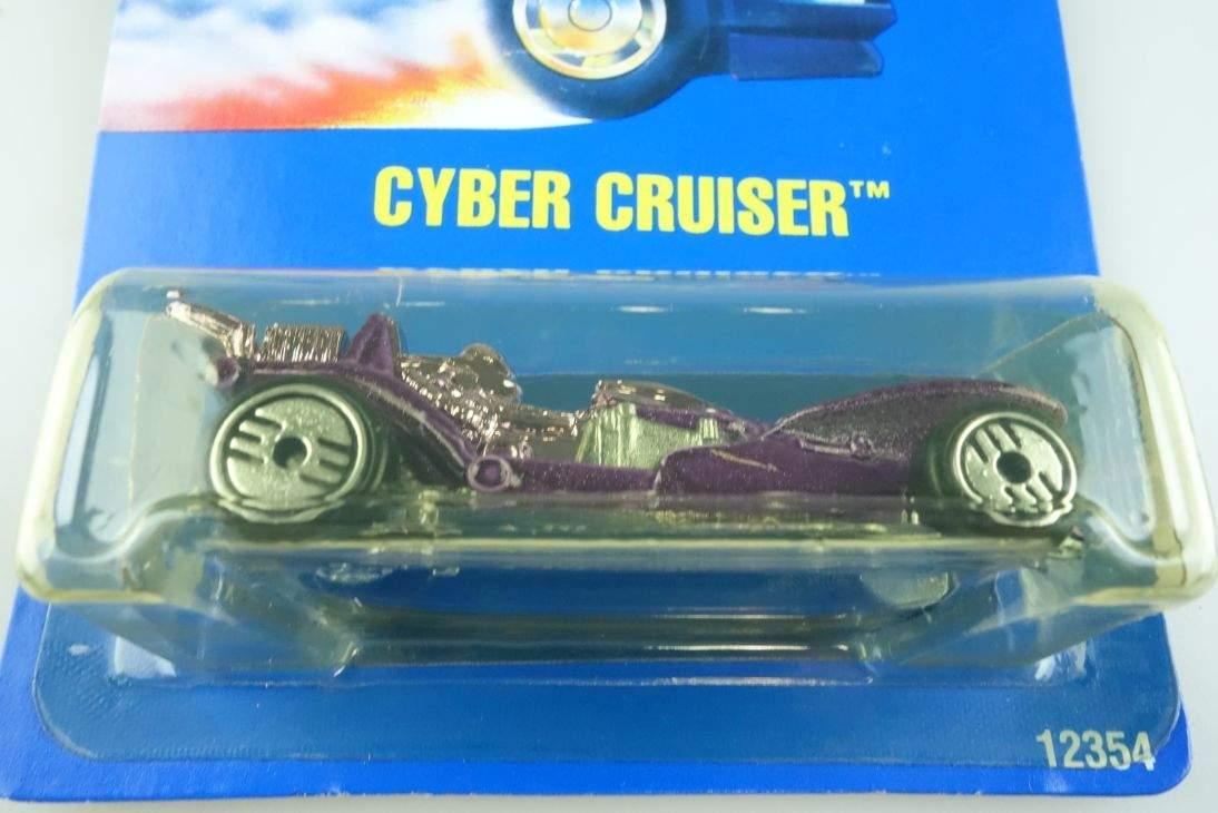 Cyber Cruiser Hot Wheels Mattel 12354 Malaysia mint blue card MOC 1:64 104488