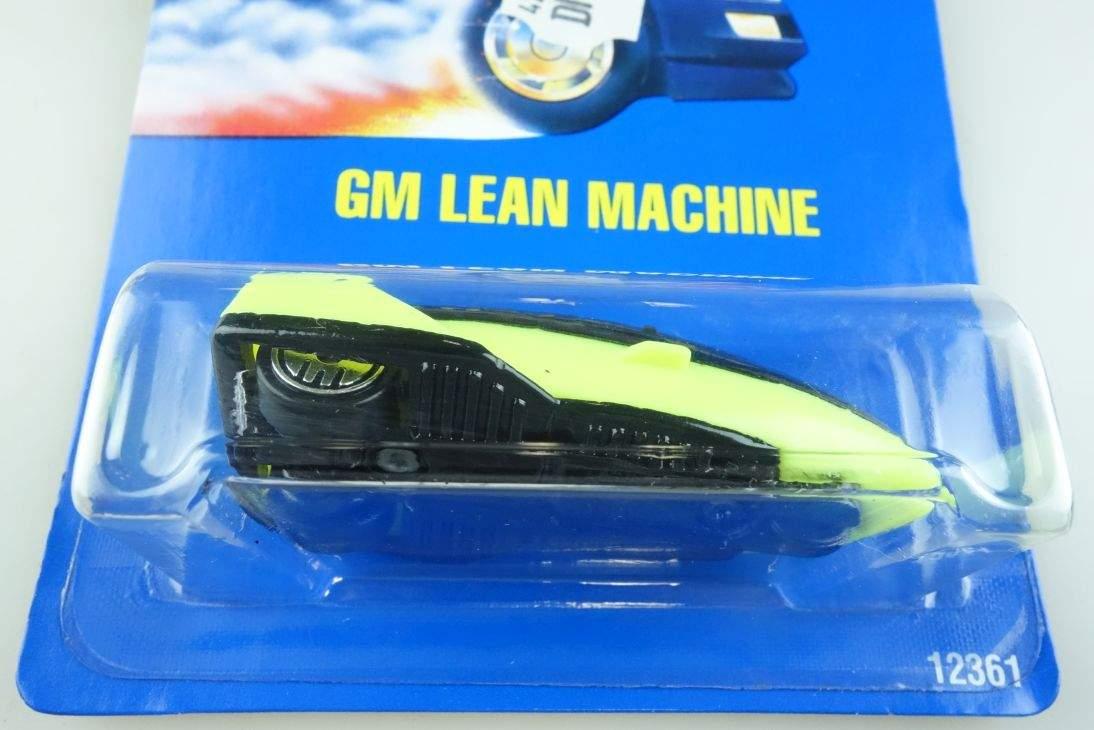 GM Lean Machine Hot Wheels Mattel 12361 Malaysia mint blue card MOC 1:64 104492