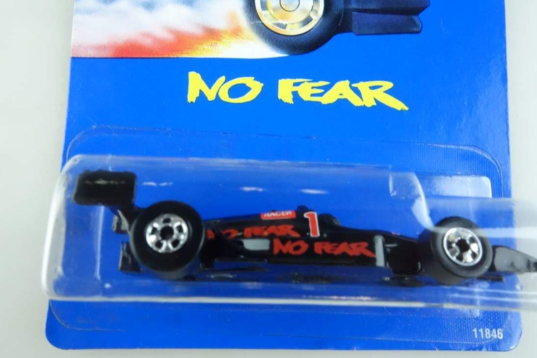 No Fear Hot Wheels Mattel 11846 Malaysia mint blue card MOC 1:64 104540