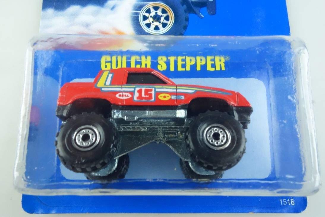 Gulch Stepper Hot Wheels Mattel 1516 Malaysia mint blue card MOC 1:64 104555