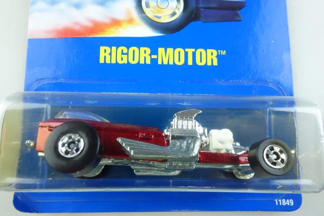 Rigor Motor Hot Wheels Mattel 11849 Malaysia mint blue card MOC 1:64 104562