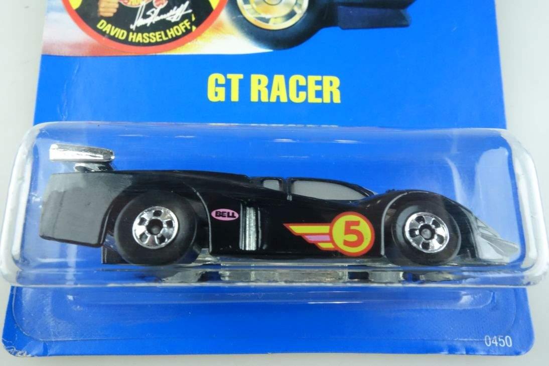 GT Racer Hot Wheels Mattel 0450 Ford Malaysia mint blue card MOC 1:64 104567
