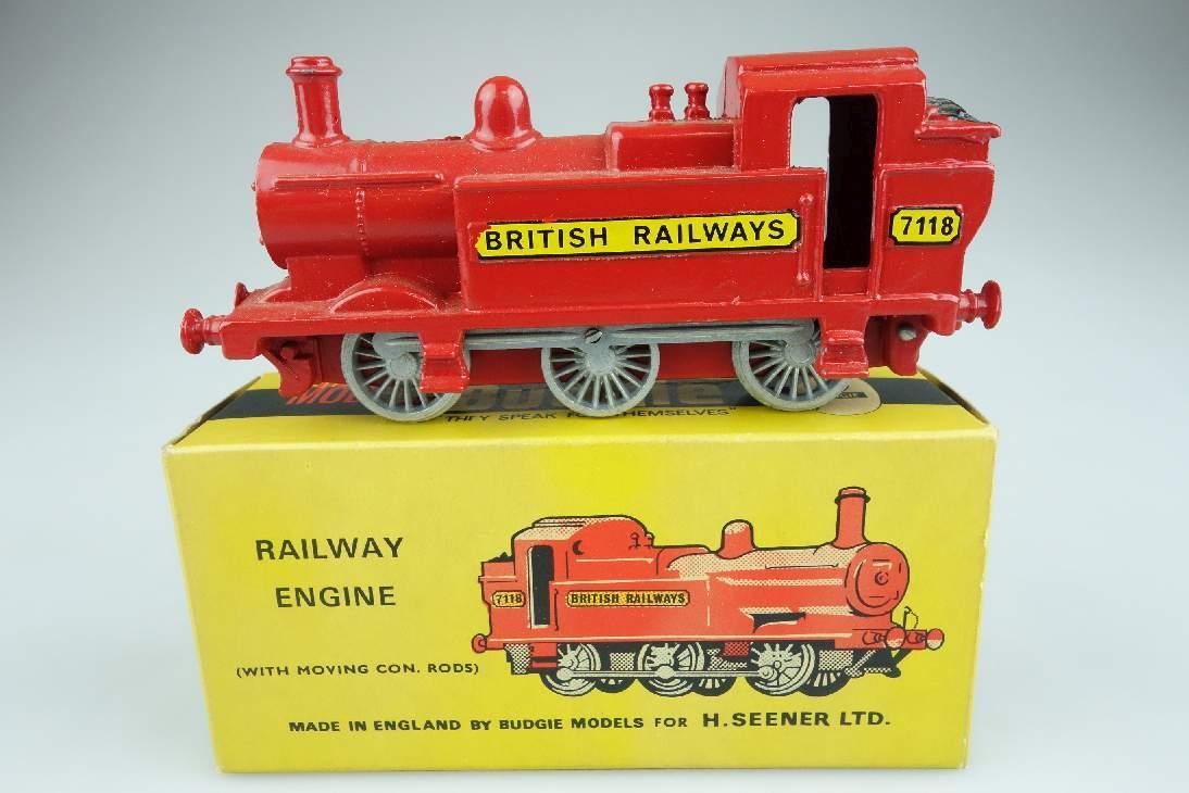 Budgie 224 Railway Engine 7118 British Railway Lok Eisenbahn Dampflok Box 104686