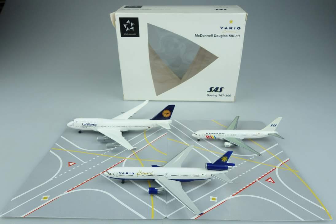 Herpa 511278 Boeing McDonnel Douglas Star Alliance Flugzeug plane 1:500 104642