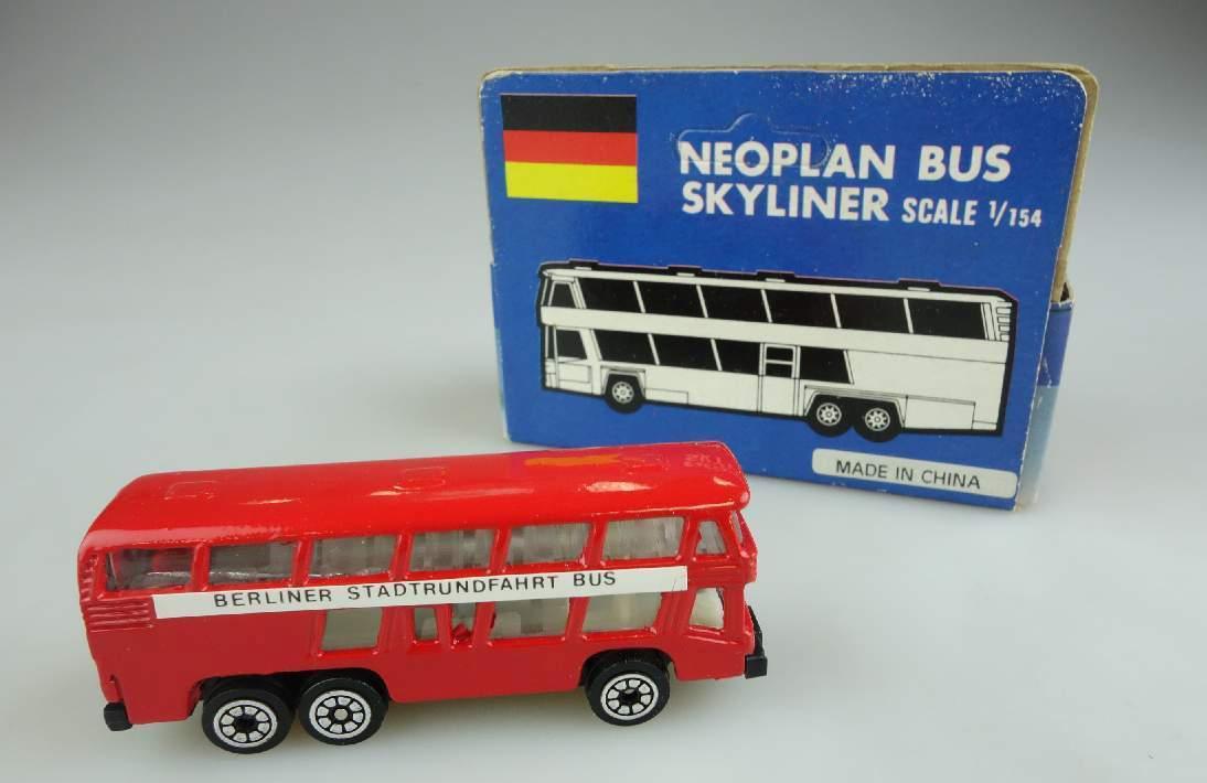 1/154 Neoplan Bus Skyliner Berliner Stadtrundfahrt Metal toys 104022