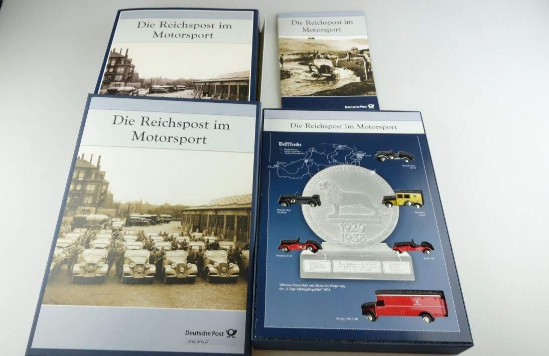 BUB Set Die Reichspost im Motorsport 2006 6 Modelle Sonderedition 1:87 104032