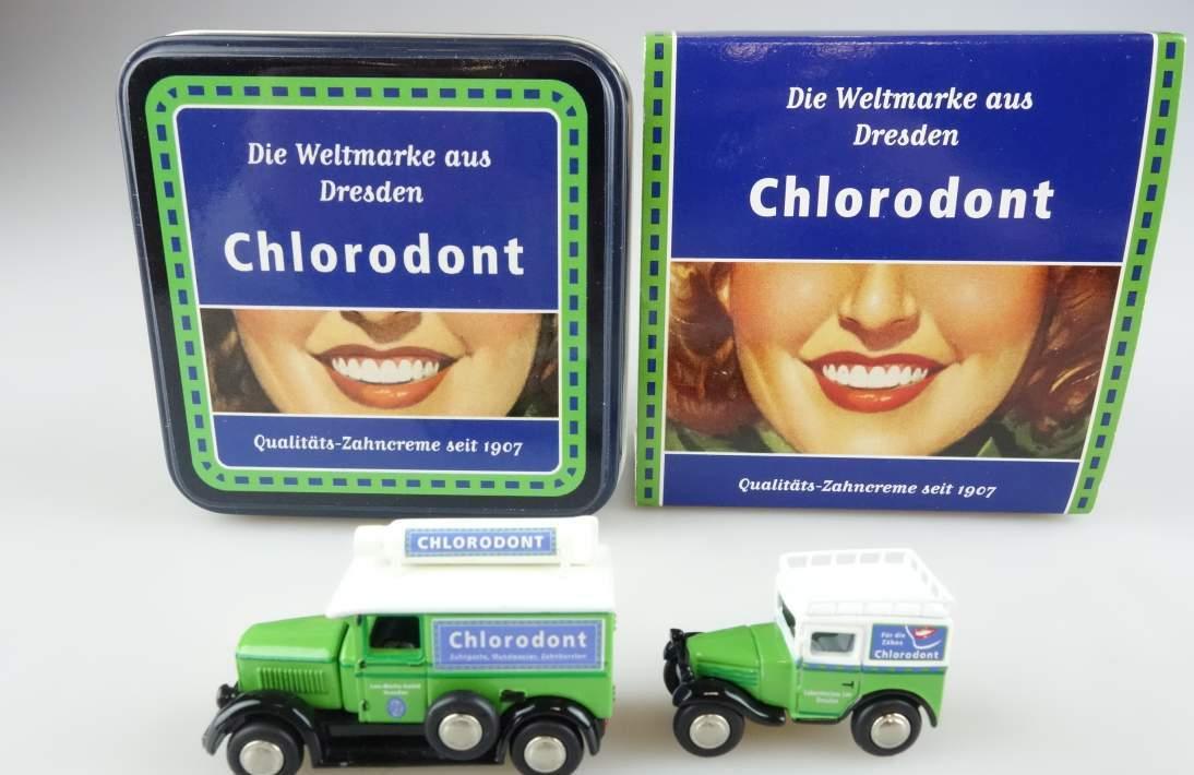 "BUB 06906 Phänomen Granit und BMW Dixi ""Chlorodont"" 2007 Bubmobile 1:87 104052"