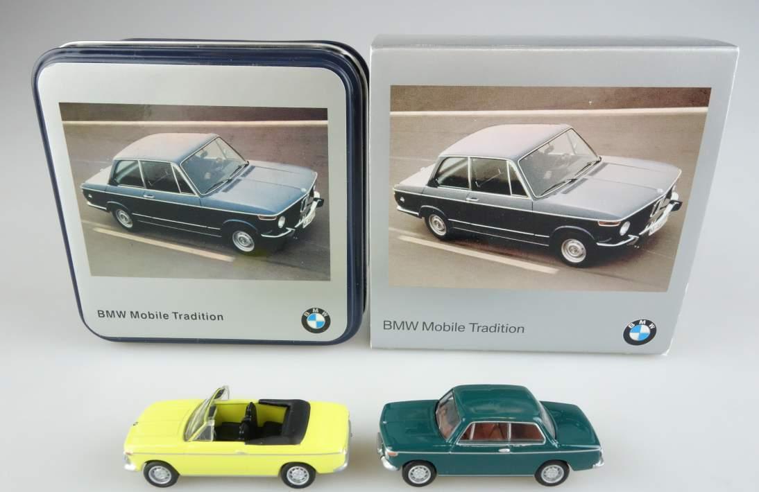 BUB BMW '02 40 Jahre Jubiläum Techno Classica 2006 Bubmobile 1:87 104067