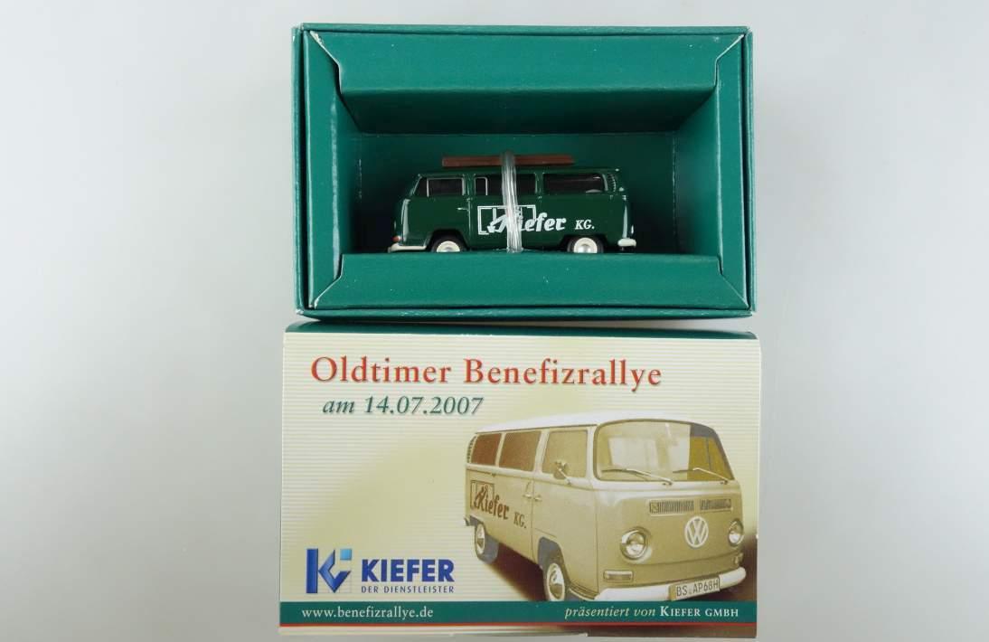 BUB VW t2 T2a Oldtimer Benefizrallye Kiefer KG Bubmobile Volkswagen 1:87 104075