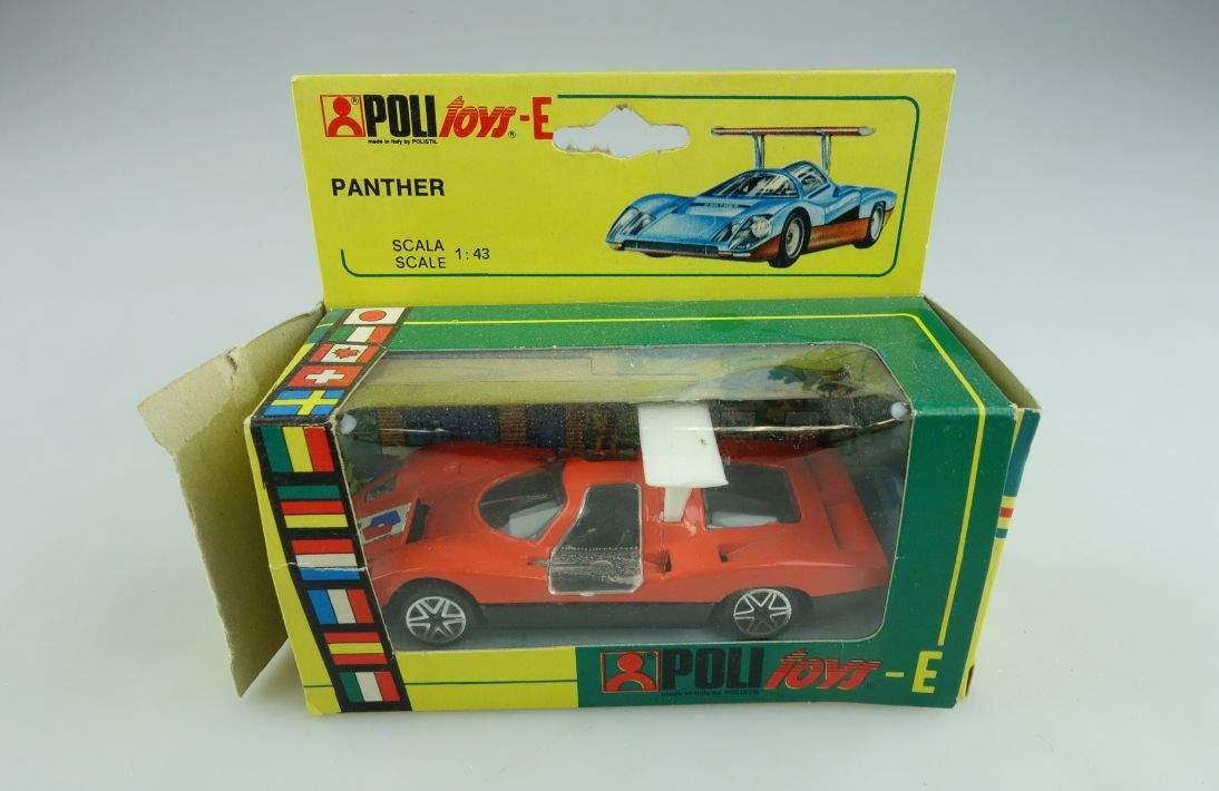 E 564 Panther Bertone Rennwagen Politoys 1/43 mit Box 506084