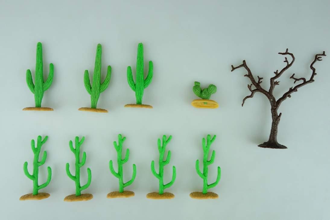 Timpo Toys Kakteen Baum cactus desert für Wildwest Fremdenlegion etc Tree 106698