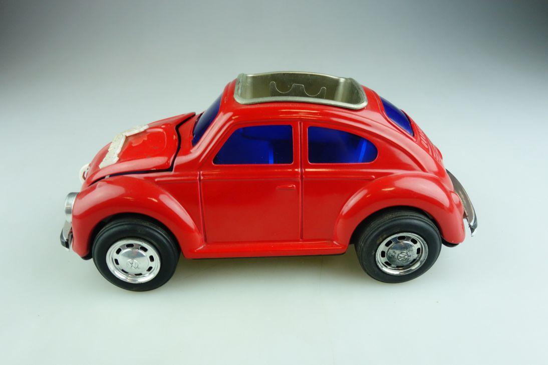 Japan ca. 1/18 VW Käfer Bug Beetle Blech Aschenbecher ohne Box 508656