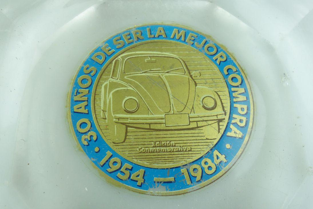 30 Jahre Jubiläum  Aschenbecher VW Käfer Bug Beetle Conmemprariva o. Box 508657