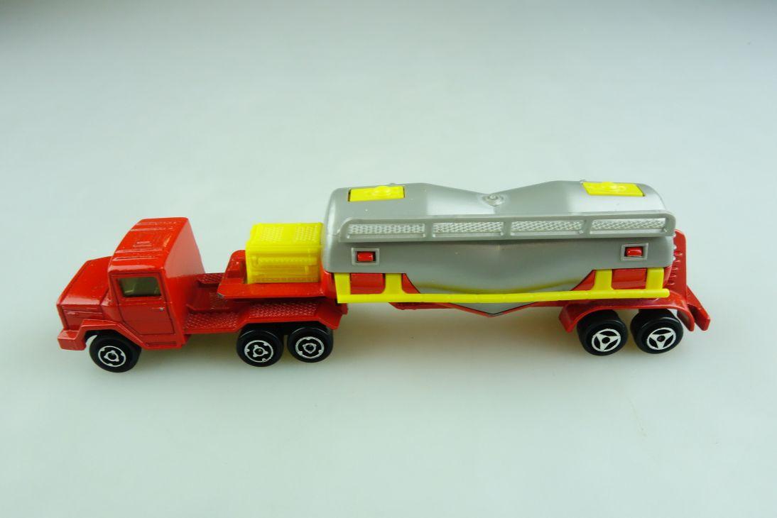 379 Majorette 1/100 Scania Sattelschlepper Chemikalien Tanklastzug      508754