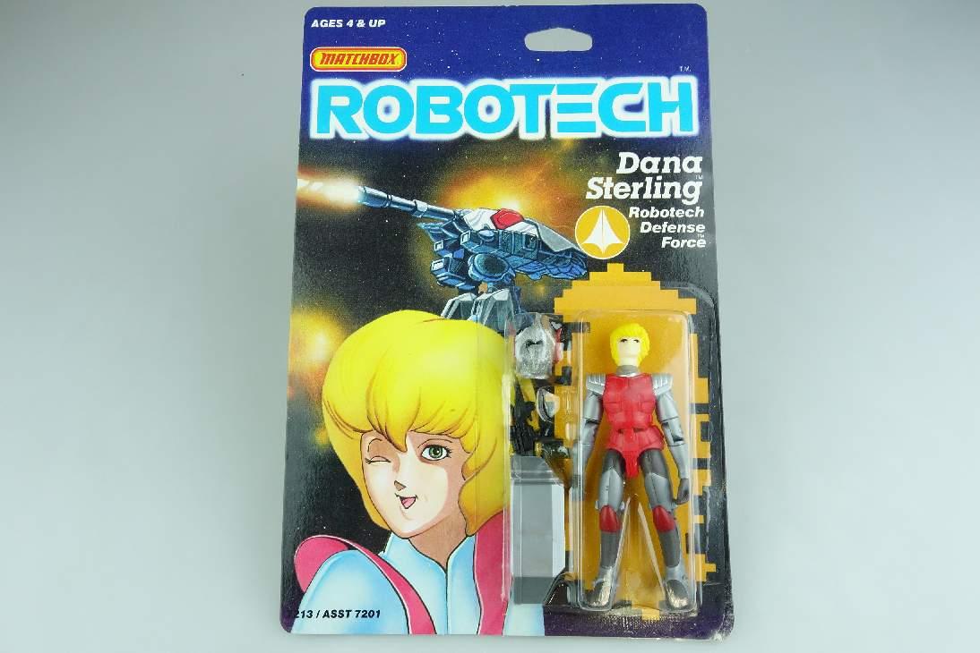 vintage 1985 Matchbox ROBOTECH Defence Force Figur Dana Sterling 7213 MOC 106676