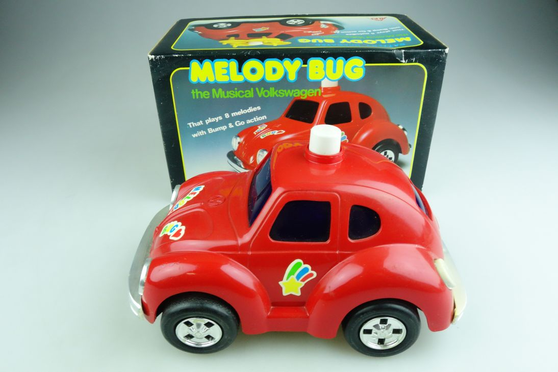 Alps Toys ca. 1/18 VW Käfer Beetle Melody Bug Musical Volkswagen mit Box 509008