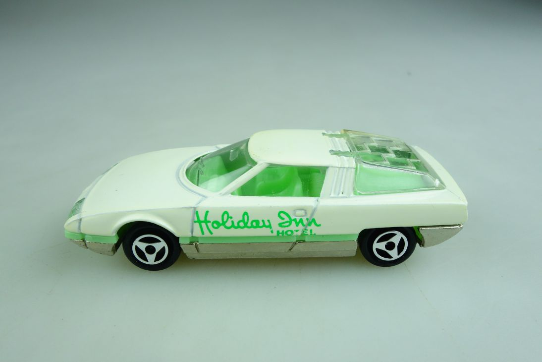 221 Majorette 1/55 Citroen GS Camargue Coupe Holiday Inn Hotel ohne Box 509013