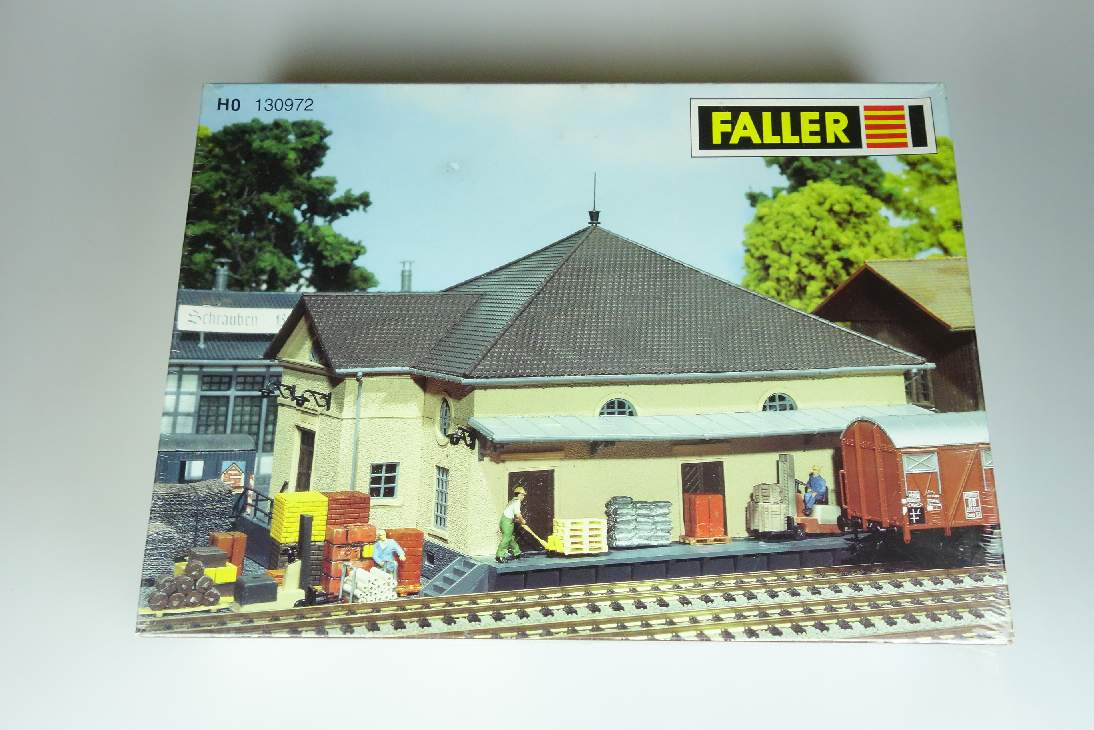 Faller 130972 H0 BW Materiallager service area materials store 1:87 Kit 107051