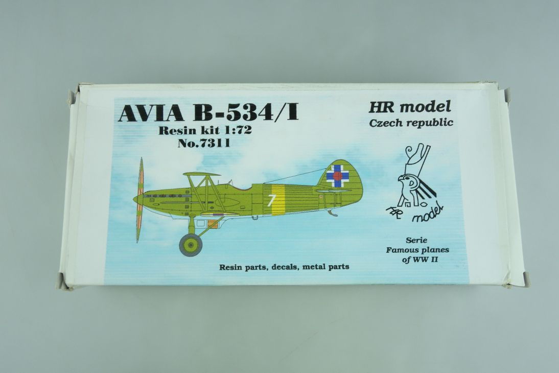 HR Model 1:72 AVIA B-534/I Resin kit 7311 Bausatz 107228