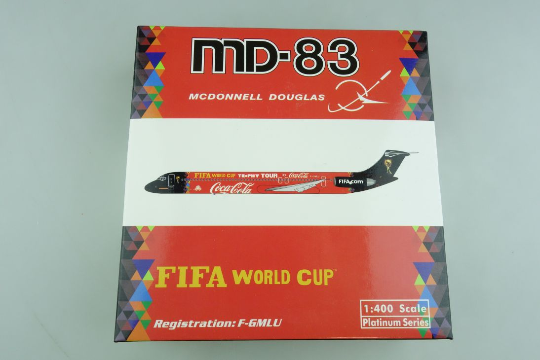 Platinum 1/400 McDonnel Douglas 83 Coca Cola Fifa World Cup mit Box 509404