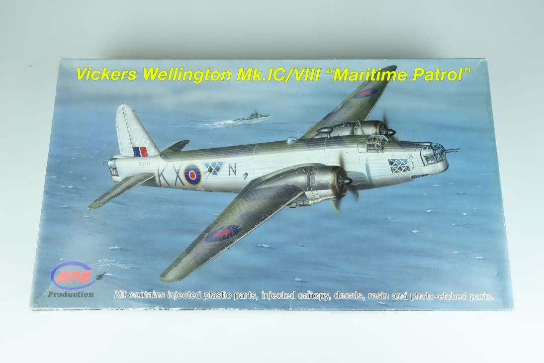 MPM 1:72 Vickers Wellington Mk.IC/VIII Maritime Patrol Resin kit 72540 107276