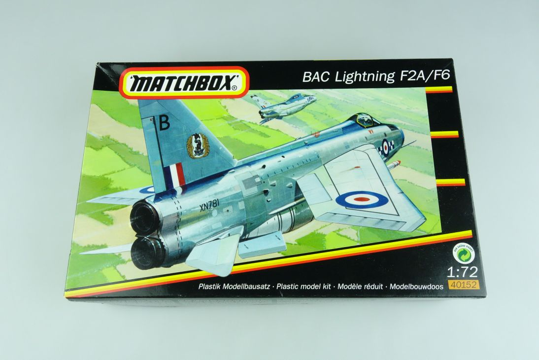 Matchbox 1:72 BAC Lightning F2A F6 kit 40152 Bausatz 107293