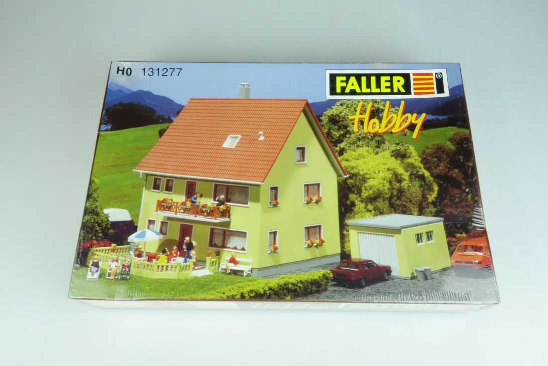Faller H0 131277 Zweifamilienhaus two family house maison kit Bausatz Box 107061