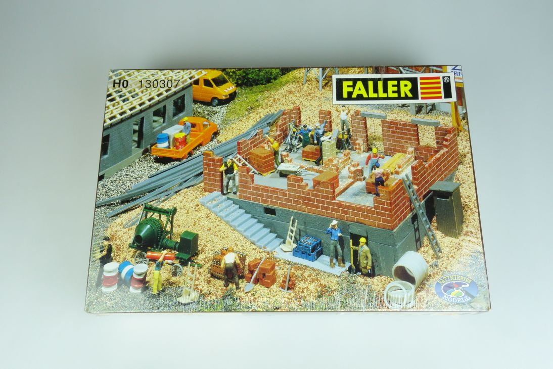 Faller H0 130307 Haus im Bau house under construction kit 1/87 Bausatz 107062