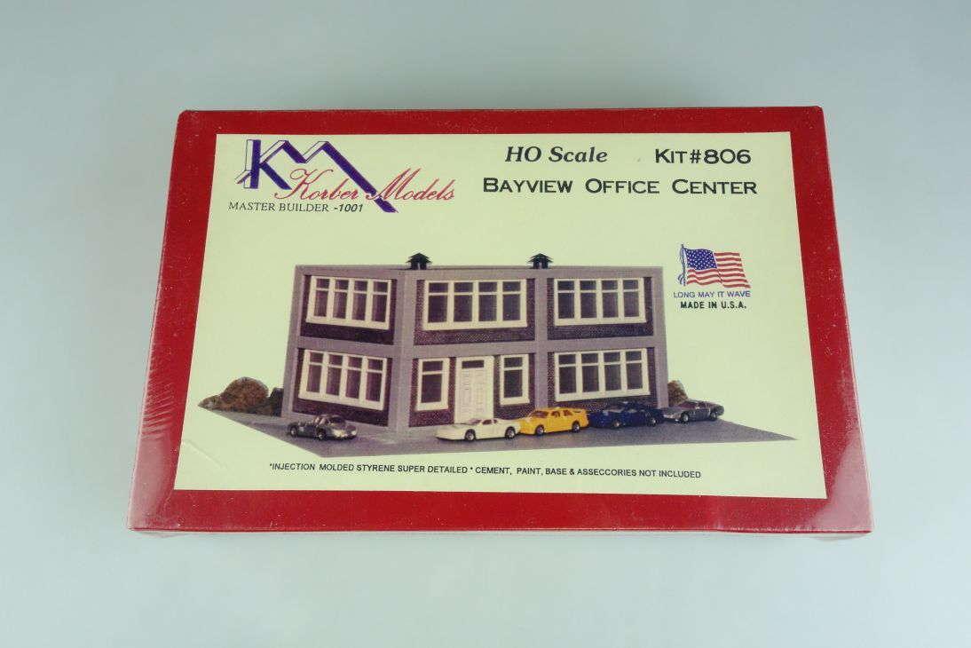 Korber Models H0 806 Bayview Office Center kit Bausatz 107075
