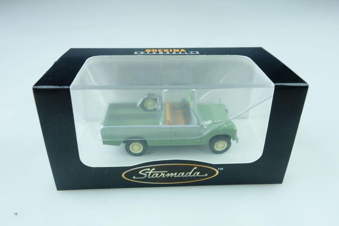 13751 Brekina 1/87 Land Rover WB 109 Pickup Starmada mit Box  509949