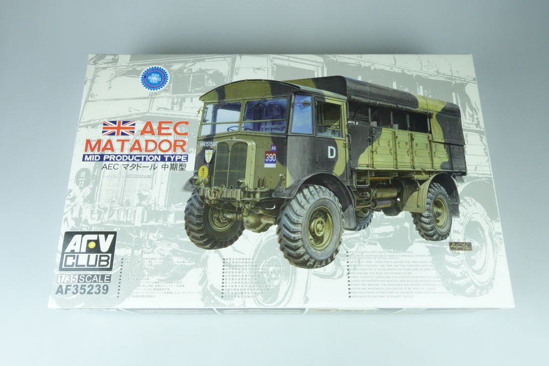 AFV Club 1:35 AEC Matador MID Production Typ LKW truck kit AF35239 Box 107583