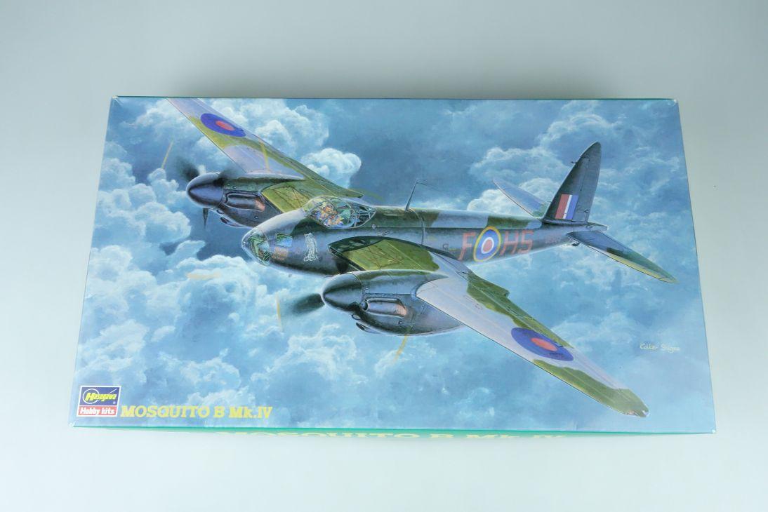 Hasegawa 1:72 Mosquito B Mk.IV Prop plane Kit 51217 Box 107642