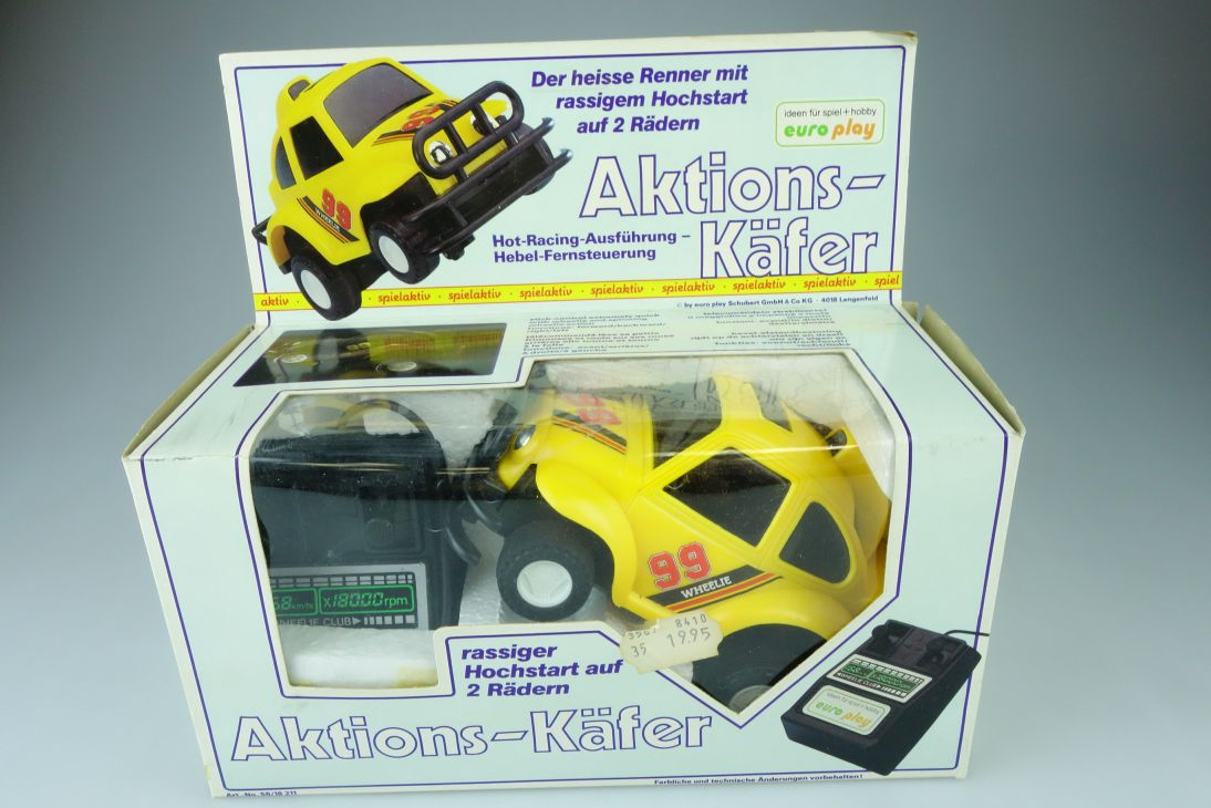 vintage euro play Aktions- Käfer Volkswagen VW 99 Wheelie bug beetle 107369