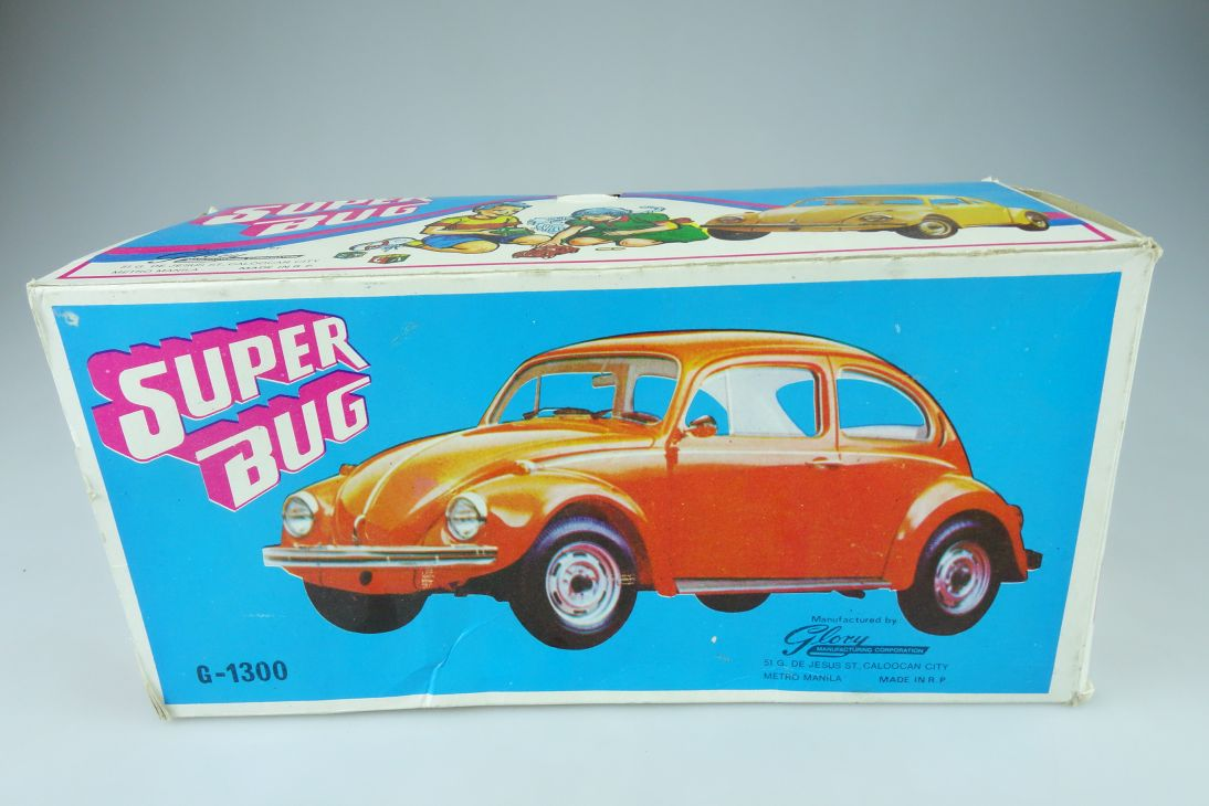 Glory G-1300 Manila Super Bug Volkswagen Käfer LEERER Karton EMPTY Box 107378
