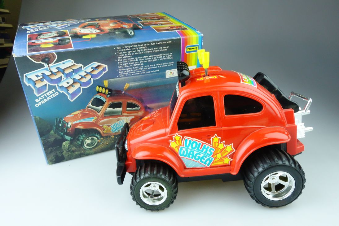 Fun Bug 4x4 VW Volkswagen Käfer 24cm battery operated Playwell 107393