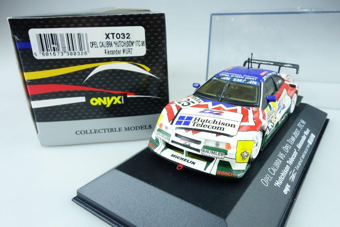 Onyx 1:43 Opel Calibra V6 Joest ITC 96 #25 Hutchison Wurz XT032 + Box 107513