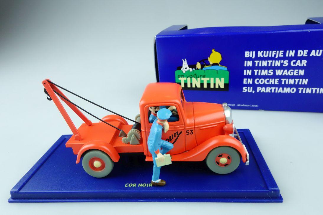 1:43 Chevrolet Pick Up 1936 VOITURE Tintin Atlas Lór noir + 059A Box 107529