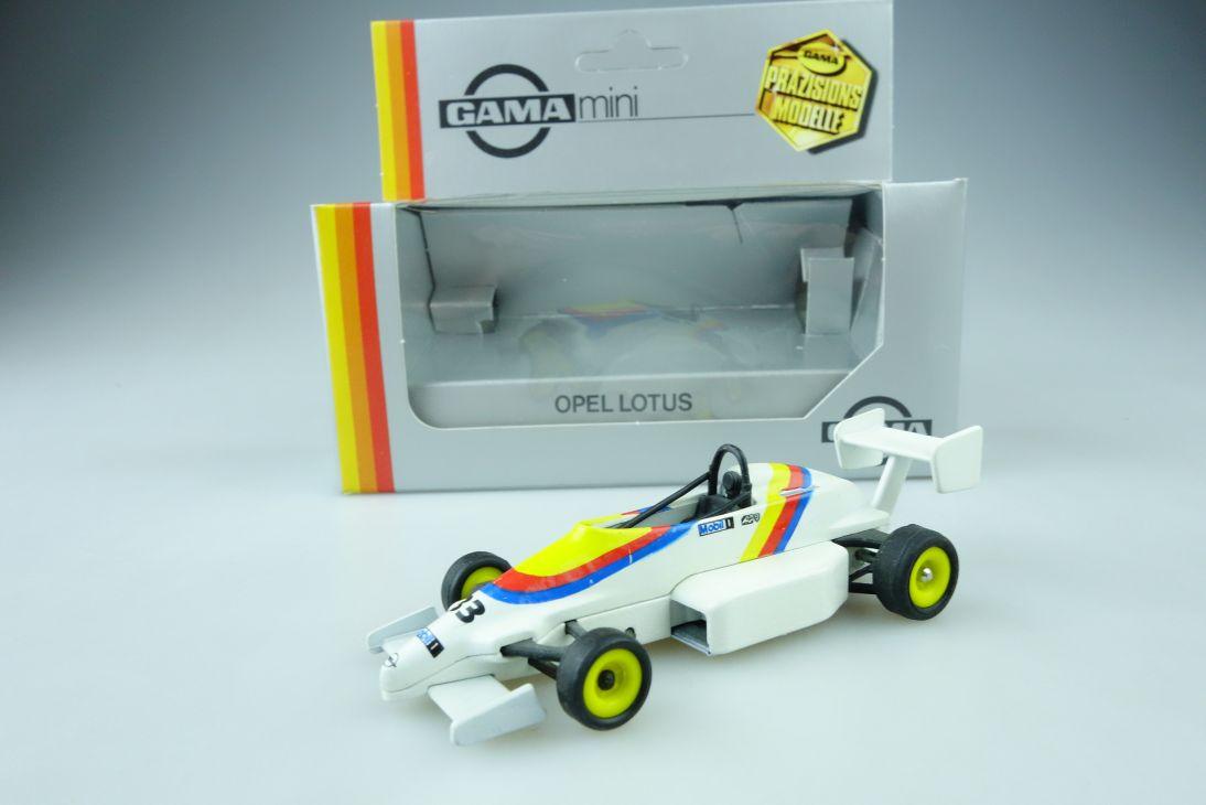 Gama mini 1:43 Opel Lotus 33 F1 1964-1967 # 1164 diecast + Box 107540