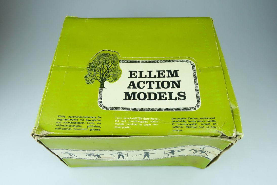 ELLEM Cherilea England Display LEERER EMPTY Box Karton Cowboys Indians 107561